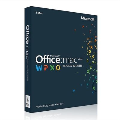 Porcellana Casa di Microsoft Office ed affare 2011 per licenza di download del mackintosh la singola fornitore