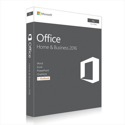Porcellana Microsoft MAC Office 2016 Home and Business Web Download Directly distributore