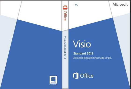 Porcellana 32/64- Licenza e download di norma 2013 di Microsoft Office Visio del pezzo distributore